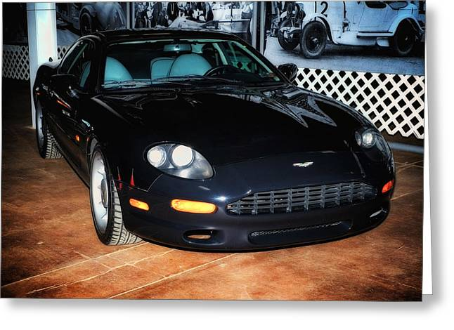 1997 Aston Martin Db7 Greeting Card