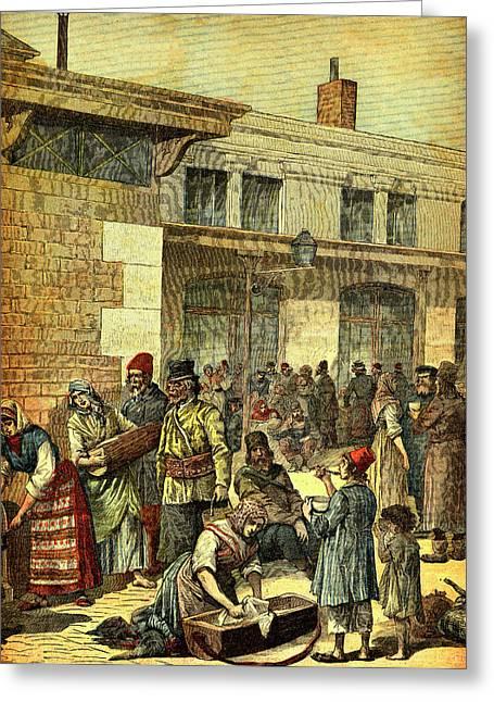 19th Century Jewish Migrants Greeting Card