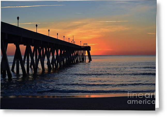1st Sunrise Of 2015 - 4 Greeting Card