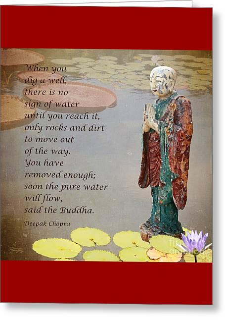 ... Said The Buddha Greeting Card