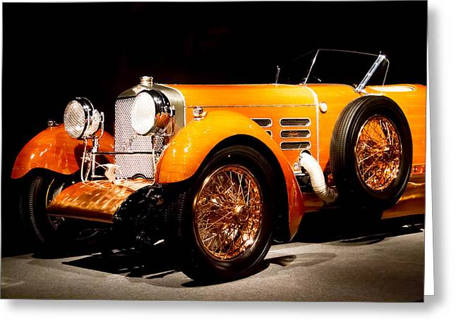 1924 Hispano Suiza Torpedo Greeting Card by Roger Mullenhour