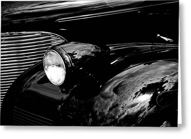 1939 Chevy Coupe Greeting Card by David Patterson