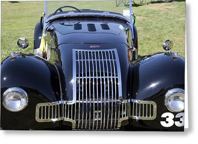 1947 Allard K1 Roadster Greeting Card