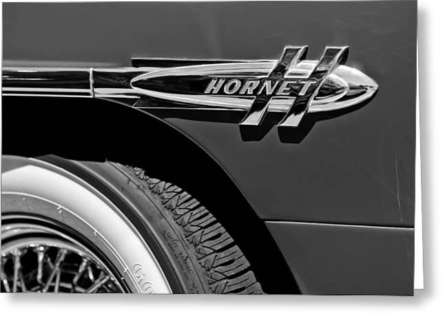 1953 Hudson Hornet Emblem Greeting Card by Jill Reger