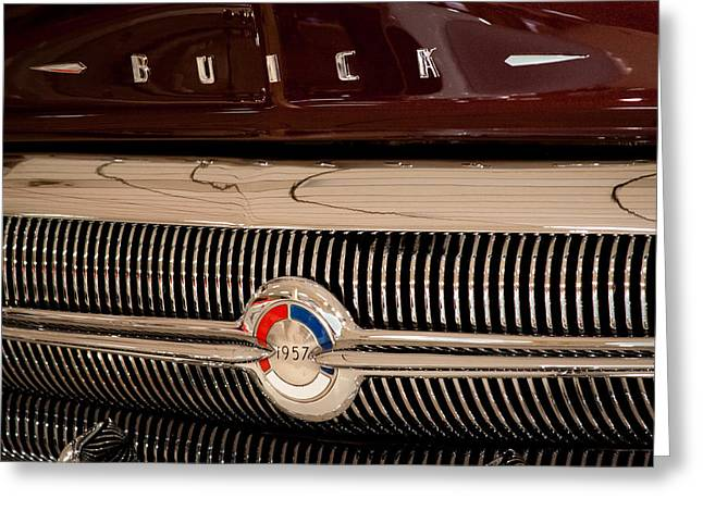 1957 Buick Greeting Card