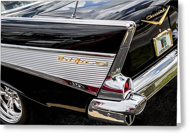 1957 Chevrolet Bel Air Greeting Card by Rich Franco