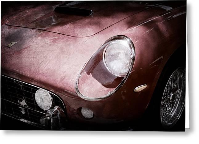 1963 Ferrari 250 Gt Swb Greeting Card by Jill Reger
