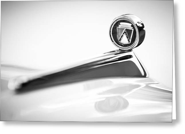 1963 Ford Falcon Futura Convertible  Hood Ornament Greeting Card