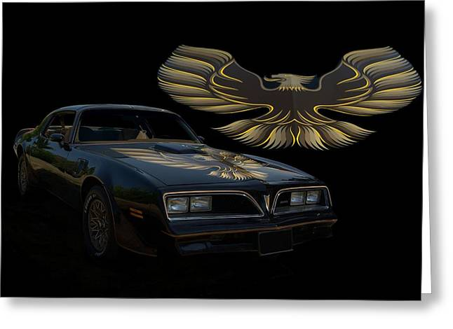 1978 Pontiac Trans Am  Greeting Card