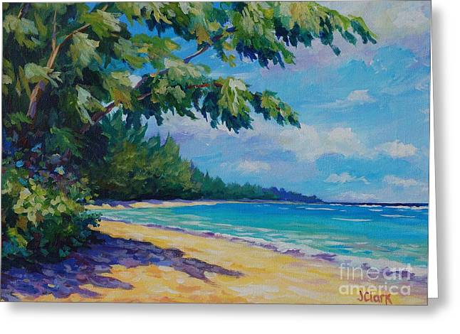 7 Mile Beach Greeting Card by John Clark