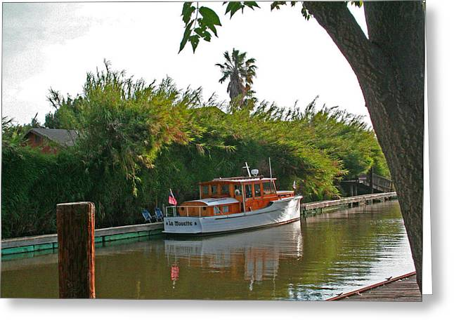 A Delta Hideaway Greeting Card