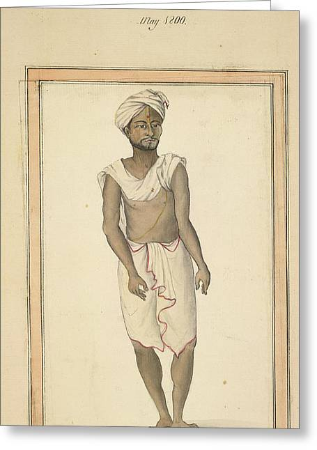 A Jain At Toomcoor Greeting Card by British Library