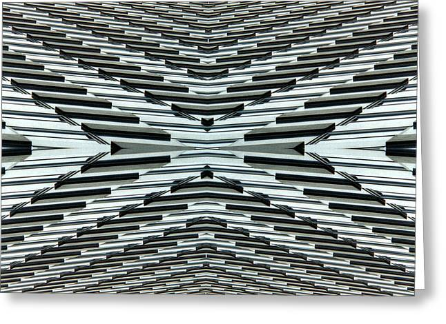 Abstract Buildings 5 Greeting Card by J D Owen