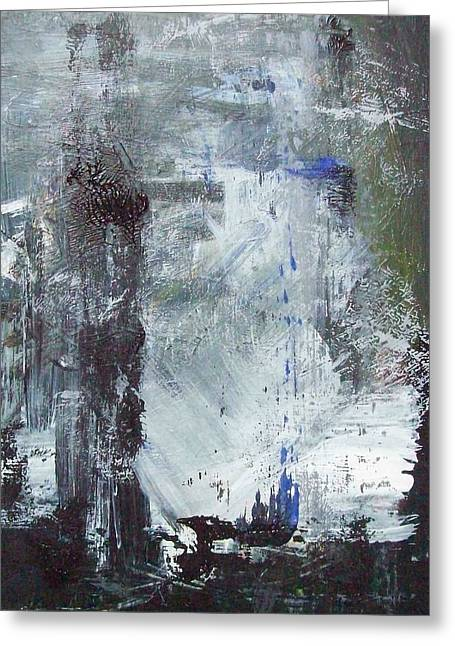 Abstract Greeting Card by Mary Adam