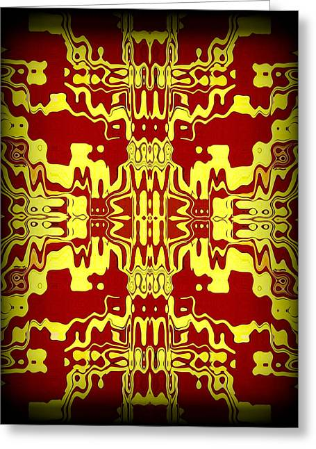 Abstract Series 3 Greeting Card by J D Owen