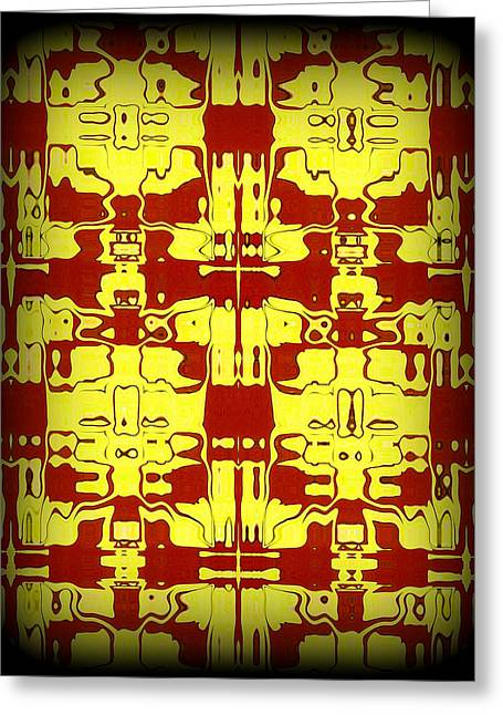 Abstract Series 5 Greeting Card by J D Owen