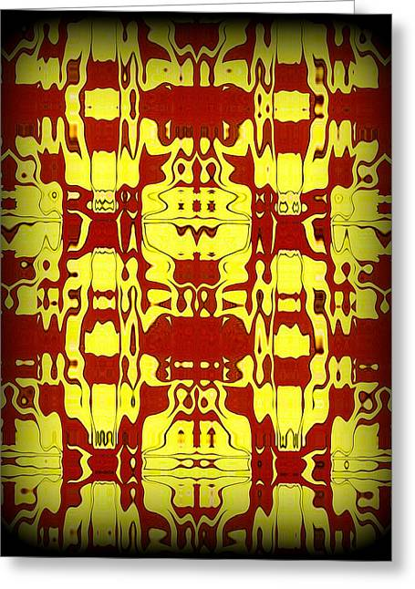 Abstract Series 6 Greeting Card by J D Owen