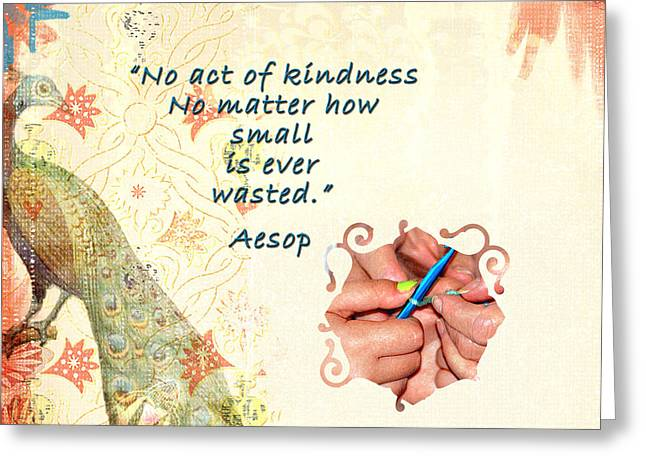 Act Of Kindness Greeting Card
