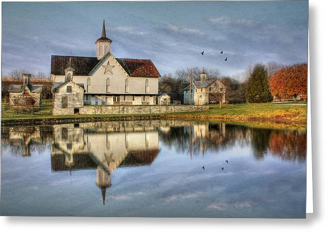 Afternoon At The Star Barn Greeting Card