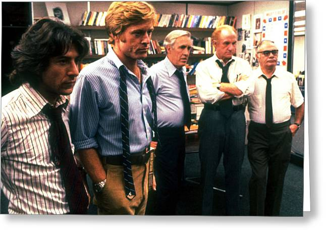 All The President's Men  Greeting Card