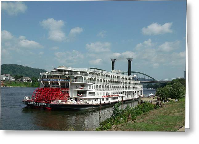 American Queen Greeting Card by Willy  Nelson