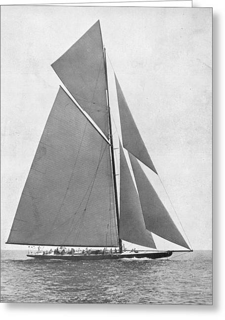 America's Cup, 1920 Greeting Card