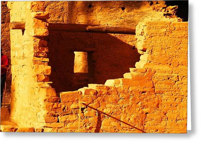 Anasazi Ruins Greeting Card