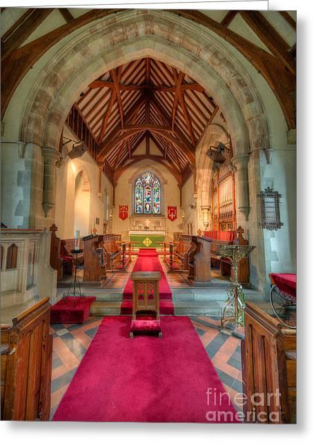 Ancient Parish Church Greeting Card