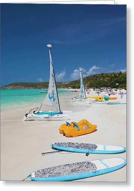 Antigua And Barbuda, Antigua, Dickenson Greeting Card