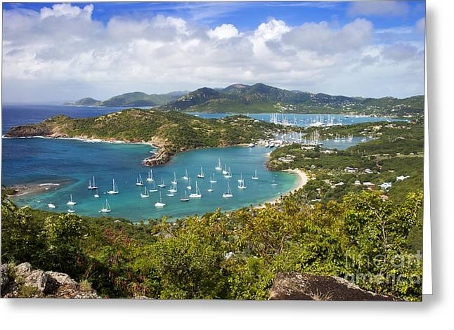 Greeting Card featuring the photograph Antigua by Brian Jannsen