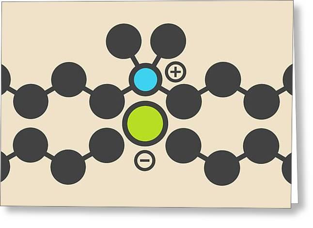 Antiseptic Molecule Greeting Card by Molekuul