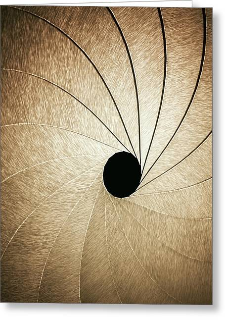 Aperture Greeting Card