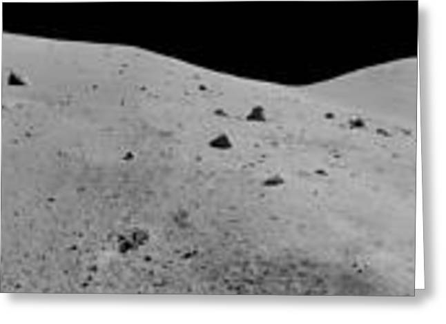 Apollo 17 Mission Greeting Card by Celestial Images