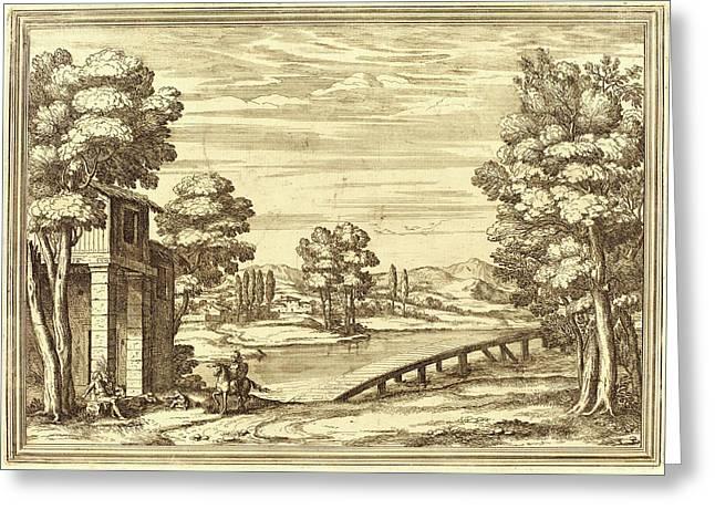 Arnold Von Westerhout, Flemish 1651-1725 Greeting Card