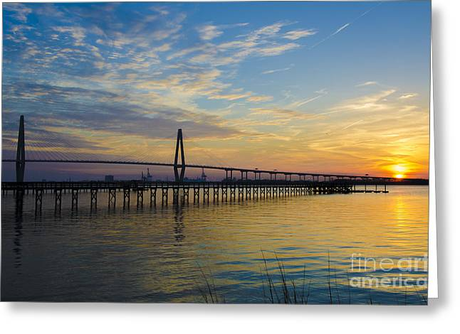 Greeting Card featuring the photograph Magical Blue Skies by Dale Powell