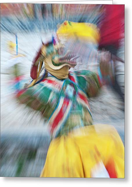 Asia, Bhutan, Bumthang Greeting Card by Jaynes Gallery