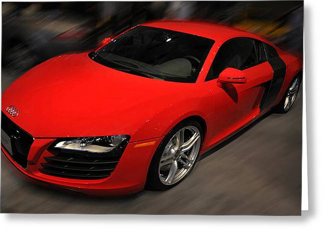 Audi R8 Greeting Card