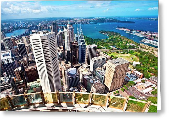 Australia, Sydney, New South Wales Greeting Card by Miva Stock