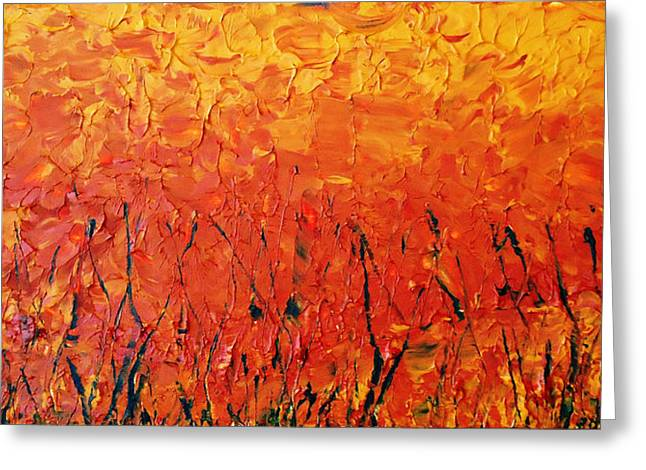 Autumn Winds Greeting Card