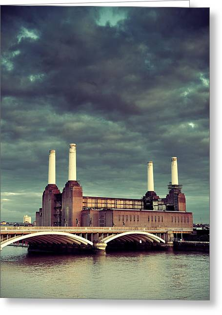 Battersea Power Station London Greeting Card