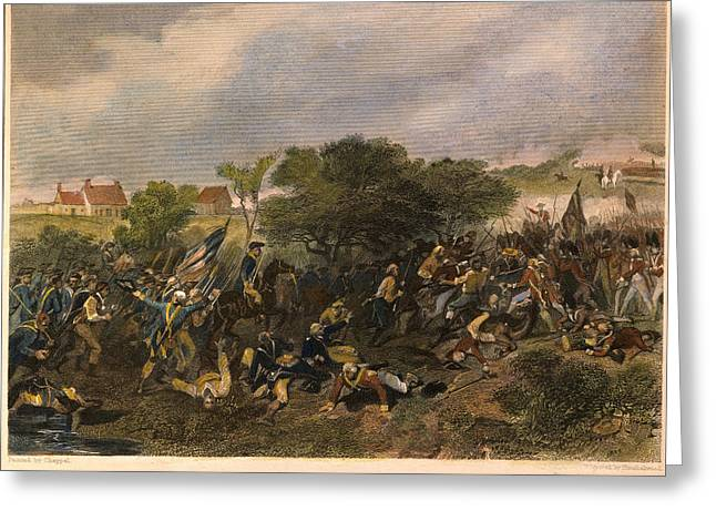 Battle Of Monmouth, 1778 Greeting Card