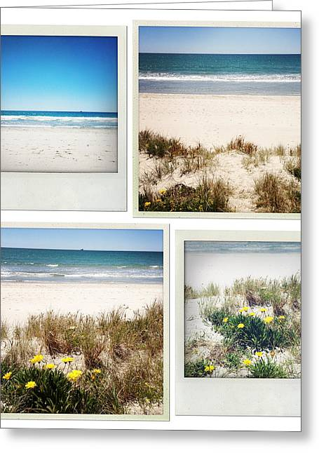 Beach Memories Greeting Card by Les Cunliffe