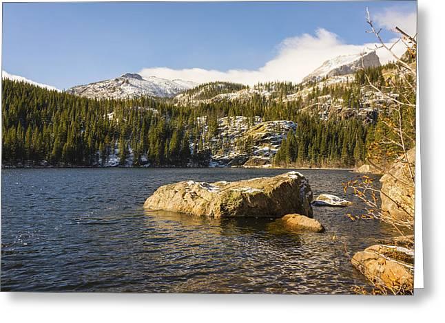 Bear Lake - Rocky Mountain National Park Colorado Greeting Card by Brian Harig