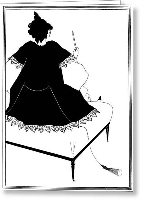 Beardsley Salome Greeting Card