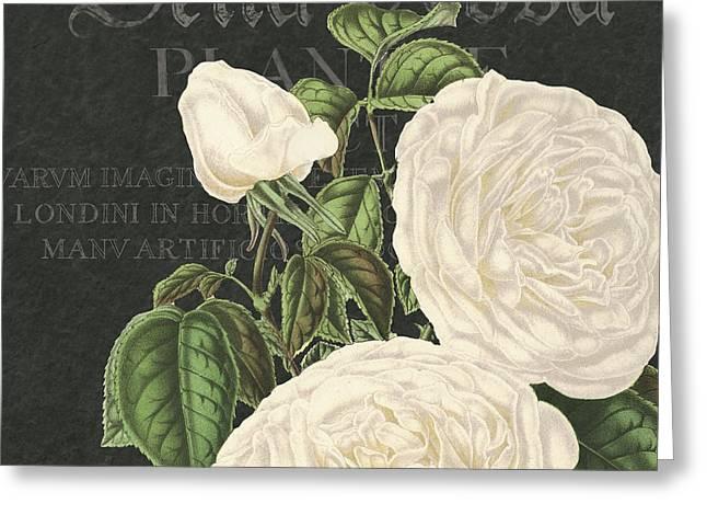 Bella Rosa Square Greeting Card