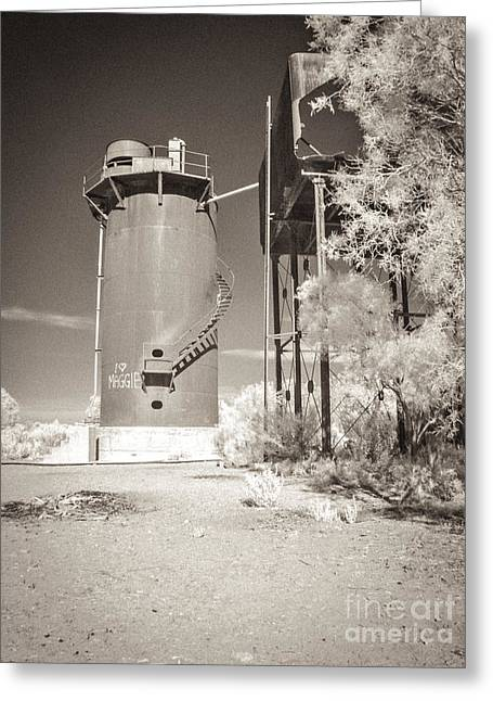 Beresford Siding Outback Australia Greeting Card by Colin and Linda McKie