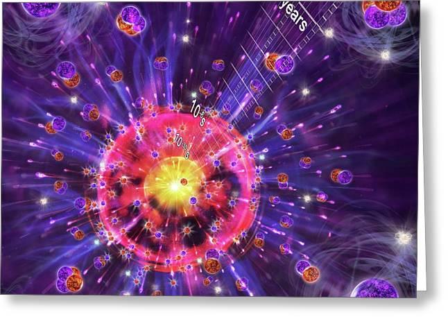 Big Bang Greeting Card by Harald Ritsch