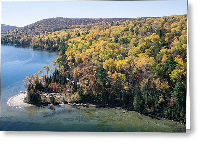 Big Cedar Lake. Quebec Greeting Card