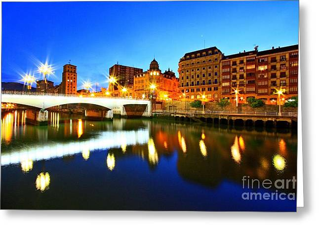 Bilbao 8 Greeting Card