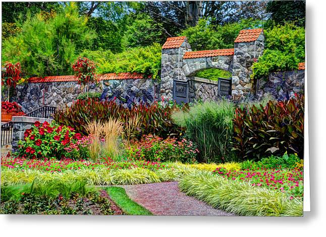Biltmore Gardens Greeting Card